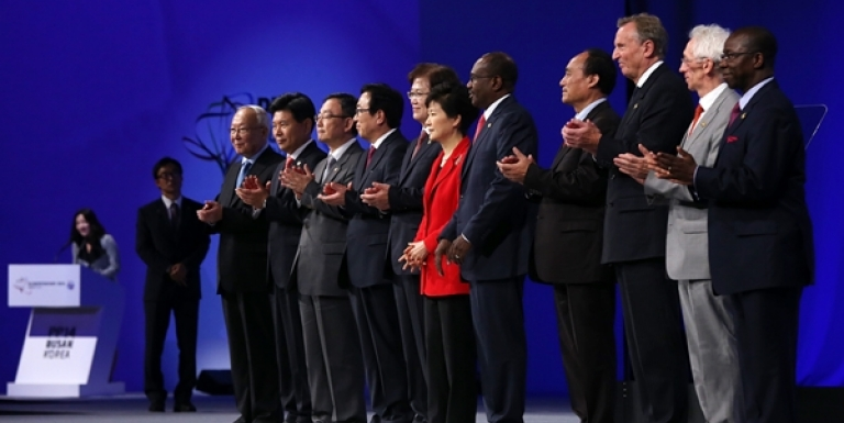 Park Geun-hye, Hamadoun Toure, and others