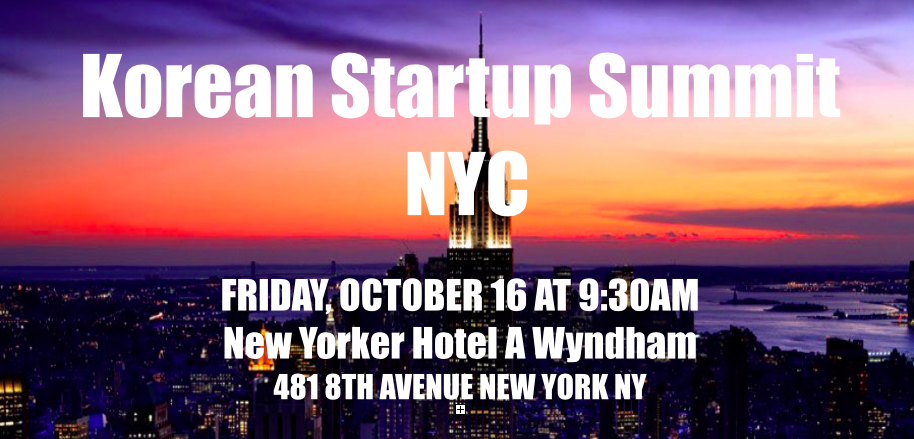 Korean Startup Summit NYC