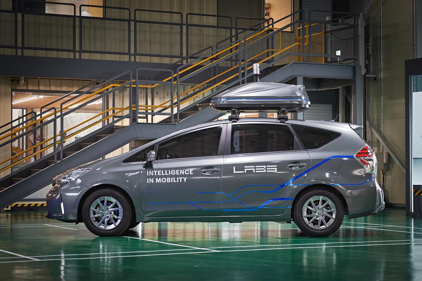 Naver Labs Autonomous Driving Vehicle